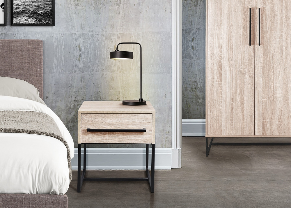 Conrad Silver Oak Wooden Bedroom Furniture Collection