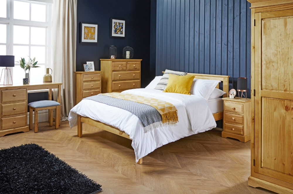 Suffolk Pine Wooden Bedroom Furniture Collection