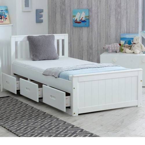 mission white wooden storage bed 17528 | mission storage white v2 1