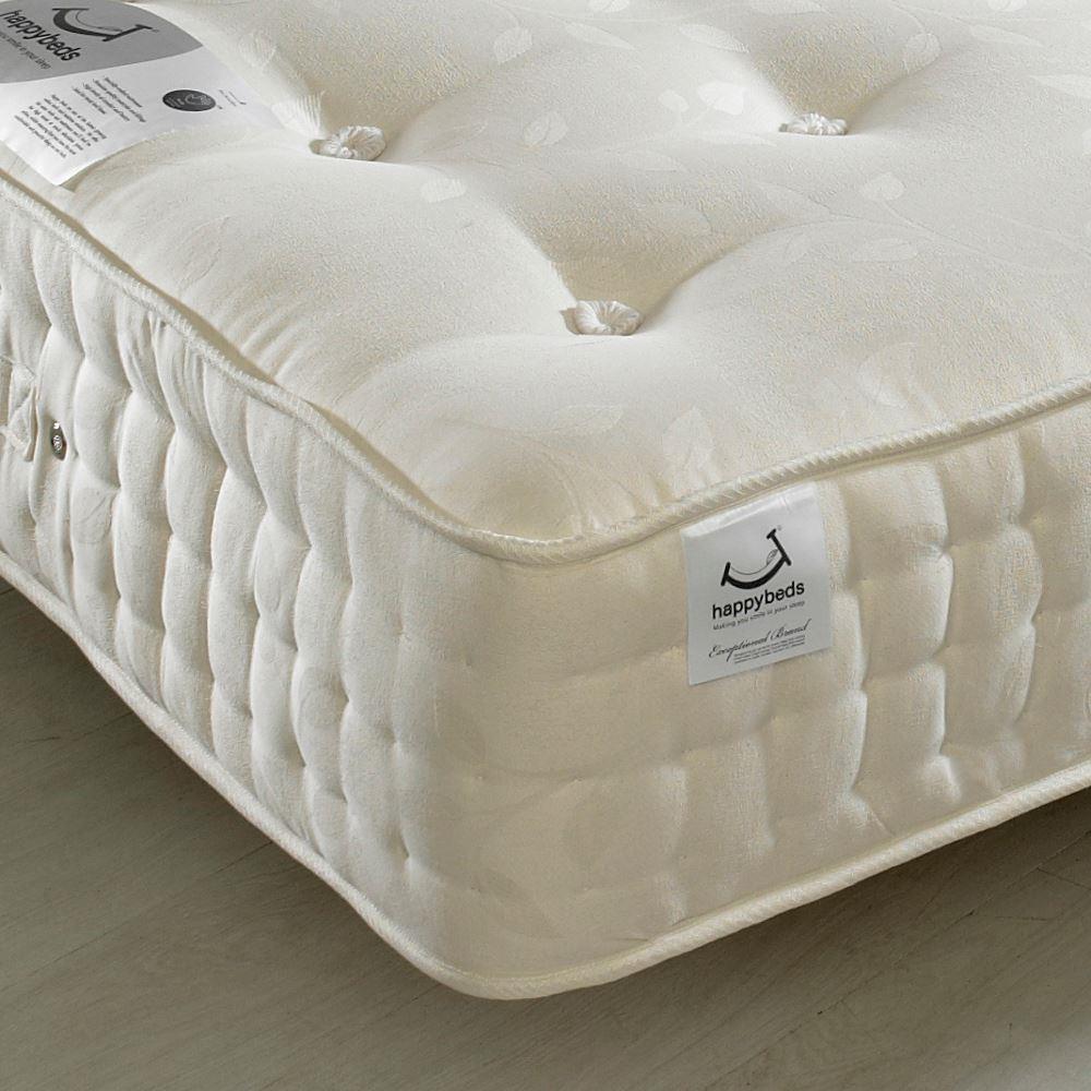 jewel 2000 pocket sprung orthopaedic natural fillings mattress. Black Bedroom Furniture Sets. Home Design Ideas