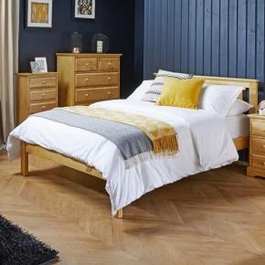 Suffolk Pine Wooden Bed