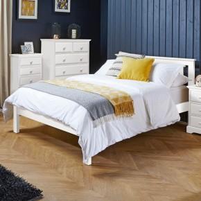 Suffolk White Wooden Bed
