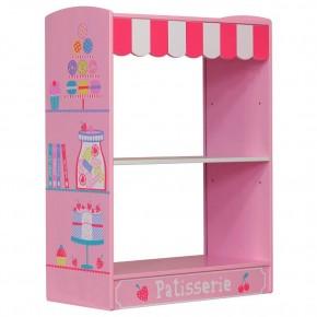 Patisserie Pink Wooden Children's Bookcase