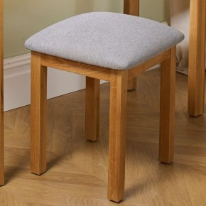 Woburn Oak Wooden Stool