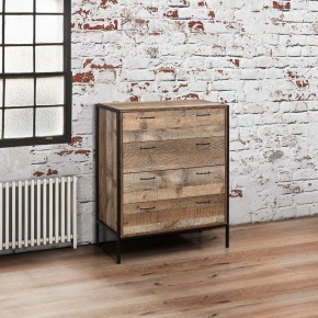 Urban Rustic 4 Drawer Chest