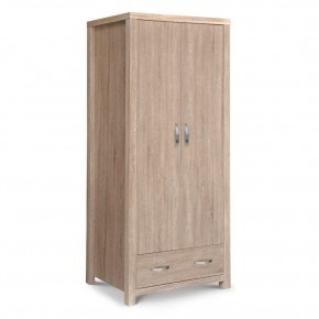 Hamilton Oak 2 Door Combination Wardrobe