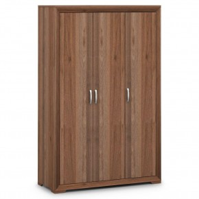 Buckingham Walnut 3 Door Wardrobe