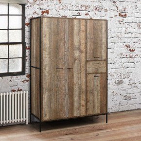 Urban Rustic 4 Door Wardrobe