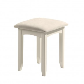 Cameo Stone White Dressing Stool