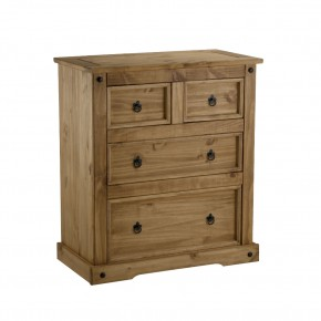Corona Pine 2+2 Drawer Chest