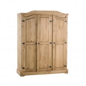 Corona Pine 3 Door Wardrobe