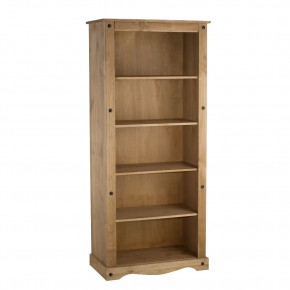 Corona Pine Tall Bookcase