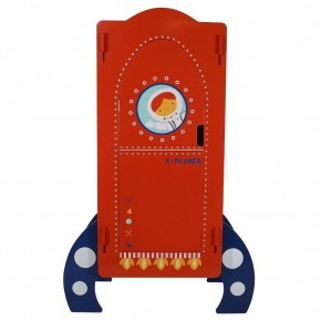 Space Explorer Children's Rocket Ship Mini Wardrobe