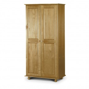 Pickwick Antique Pine 2 Door Wardrobe