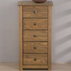 Santiago Pine 5 Drawer Chest