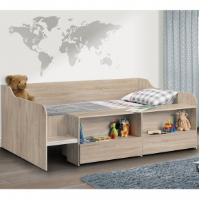 Stella Oak Wooden Kids Low Sleeper Cabin Storage Bed