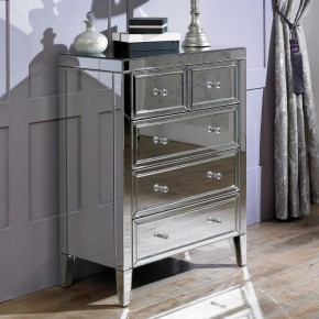 Valencia Mirrored 3+2 Drawer Chest
