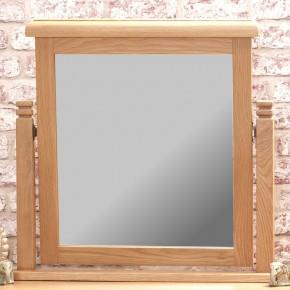 Woodstock Oak Mirror - 66 x 63 cm