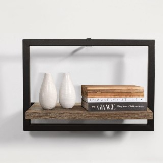 Urban Rustic Medium Floating Shelf