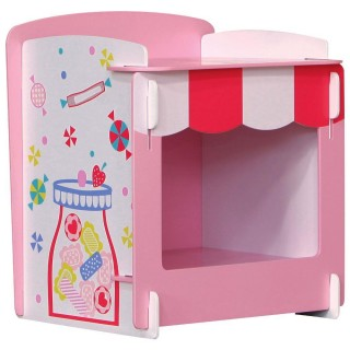 Patisserie Pink Wooden Children's Bedside Table
