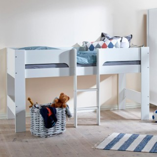 Heidi White Wooden Mid Sleeper