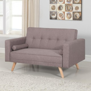 Ethan Grey Medium Fabric Sofa Bed