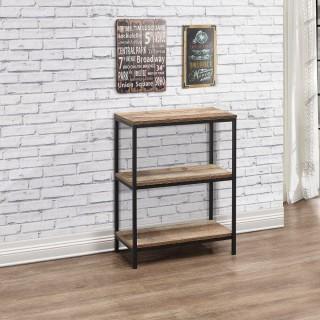 Urban Rustic 3 Tier Bookcase