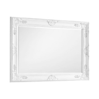 Palais White Wall Mirror - 110 cm x 80 cm