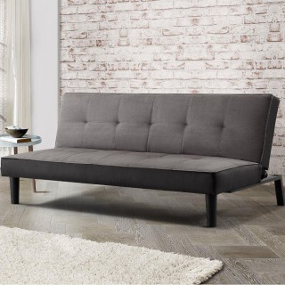 Aurora Grey Fabric Sofa Bed