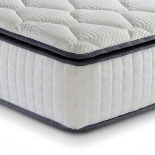 Sleep Soul Bliss 800 Pocket Spring and Memory Foam Pillowtop Mattress
