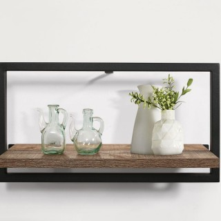 Urban Rustic Large Floating Shelf