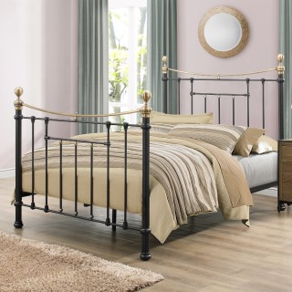 Bronte Black Metal Bed