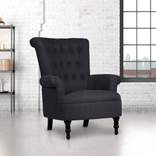Edinburgh Steel Fabric Armchair