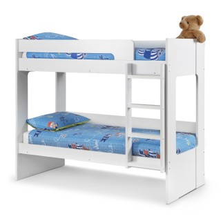 Ellie White Wooden Bunk Bed