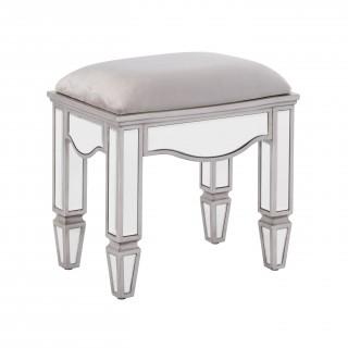 Elysee Mirrored Dressing Table Stool