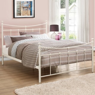 Metal Bed Frames Black And White Bed Frames Happy Beds