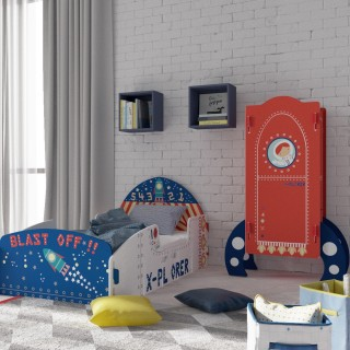 Explorer Rocket Ship Wooden Children's Bedroom Furniture Collection