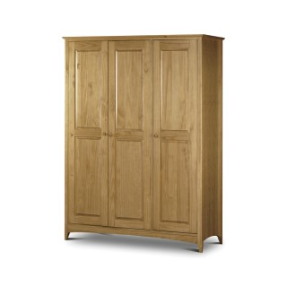 Kendal Pine 3 Door Wardrobe