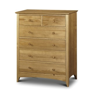 Kendal Pine 4 + 2 Drawer Chest