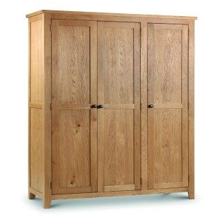 Marlborough Oak 3 Door Wardrobe