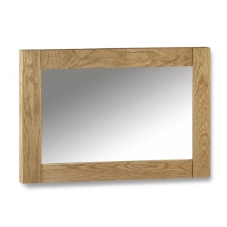 Marlborough Oak Wall Hanging Mirror - 70 x 100 cm