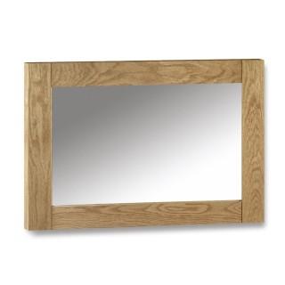 Marlborough Oak Wall Hanging Mirror - 70 x 100 cm