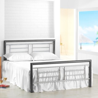 Montana Chrome and Nickel Metal Bed