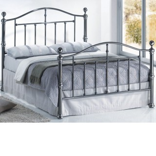 Victoria Nickel Metal Bed