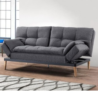 Squish Grey Fabric Sofa Bed
